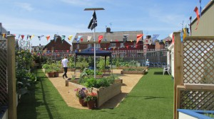 Our community garden is a great place to enjoy good health and wellbeing.